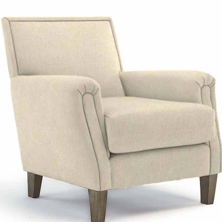 Living Room, best home furnishings, club chair, contemporary, custom chair, fabric, modern, North American Made, customizable, custom made, modern, madelyn chair, madelyn chair1