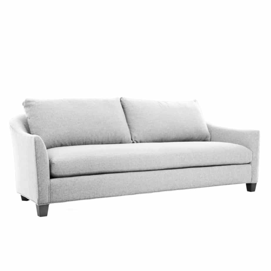 audrey sofa, custom sofa, love seat, contemporary, bench seat, traditional, made in canada, canadian made, van gogh designs