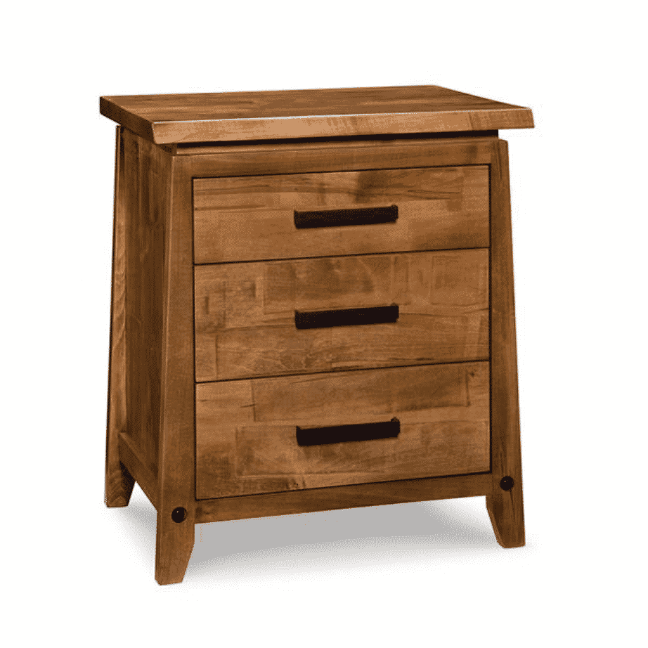 handstone, made in canada, solid wood furniture, rustic furniture, modern furniture, craftsman furniture, live edge furniture, amish style furniture, pemberton bedroom 2, bedroom furniture ideas, bedroom design, bedroom furniture, pemberton night stand
