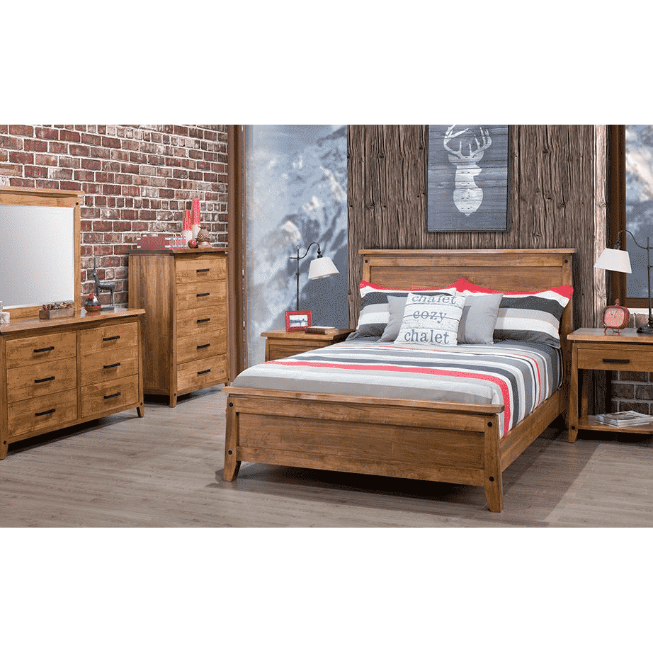 handstone, made in canada, solid wood furniture, rustic furniture, modern furniture, craftsman furniture, live edge furniture, amish style furniture, pemberton bedroom, bedroom furniture ideas