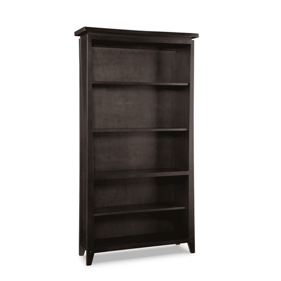 handstone, made in canada, solid wood furniture, rustic furniture, modern furniture, craftsman furniture, live edge furniture, amish style furniture, shelving, office furniture ideas, pemberton bookcase