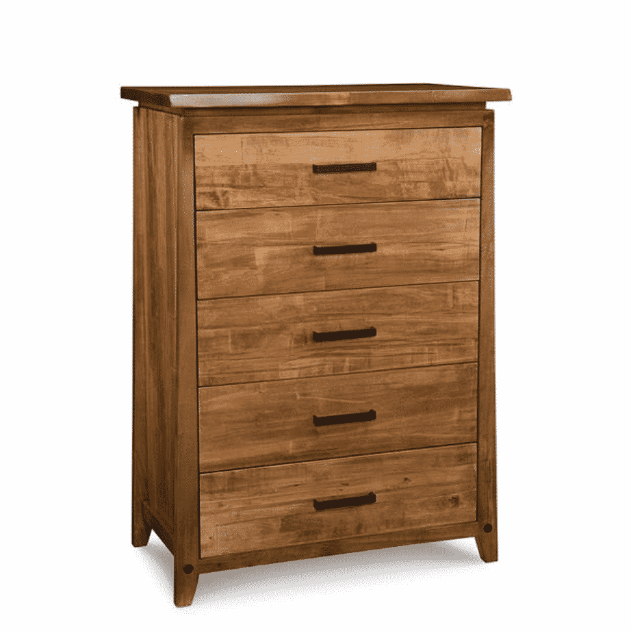 pemberton chest, handstone, made in canada, solid wood furniture, rustic furniture, modern furniture, craftsman furniture, live edge furniture, amish style furniture, pemberton chest of drawers