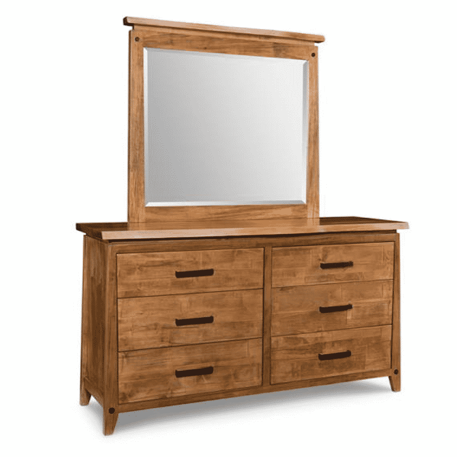 pemberton dresser, handstone, made in canada, solid wood furniture, rustic furniture, modern furniture, craftsman furniture, live edge furniture, amish style furniture