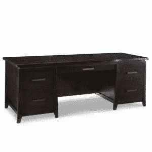 handstone, made in canada, solid wood furniture, rustic furniture, modern furniture, craftsman furniture, live edge furniture, amish style furniture, shelving, office furniture ideas, pemberton live edge executive desk