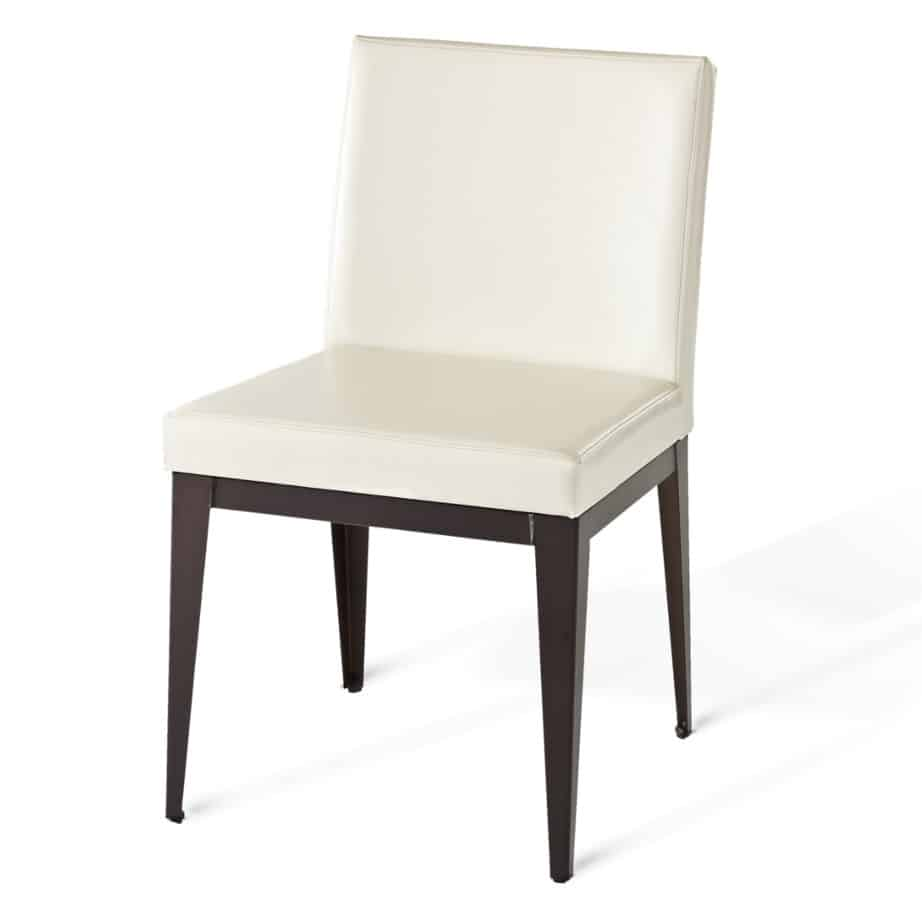 Dining Room, amisco, chair, pablo Chair, contemporary, custom chair, customizable, fabric, made in canada, metal, rustic wood, seating, urban, custom made, modern,