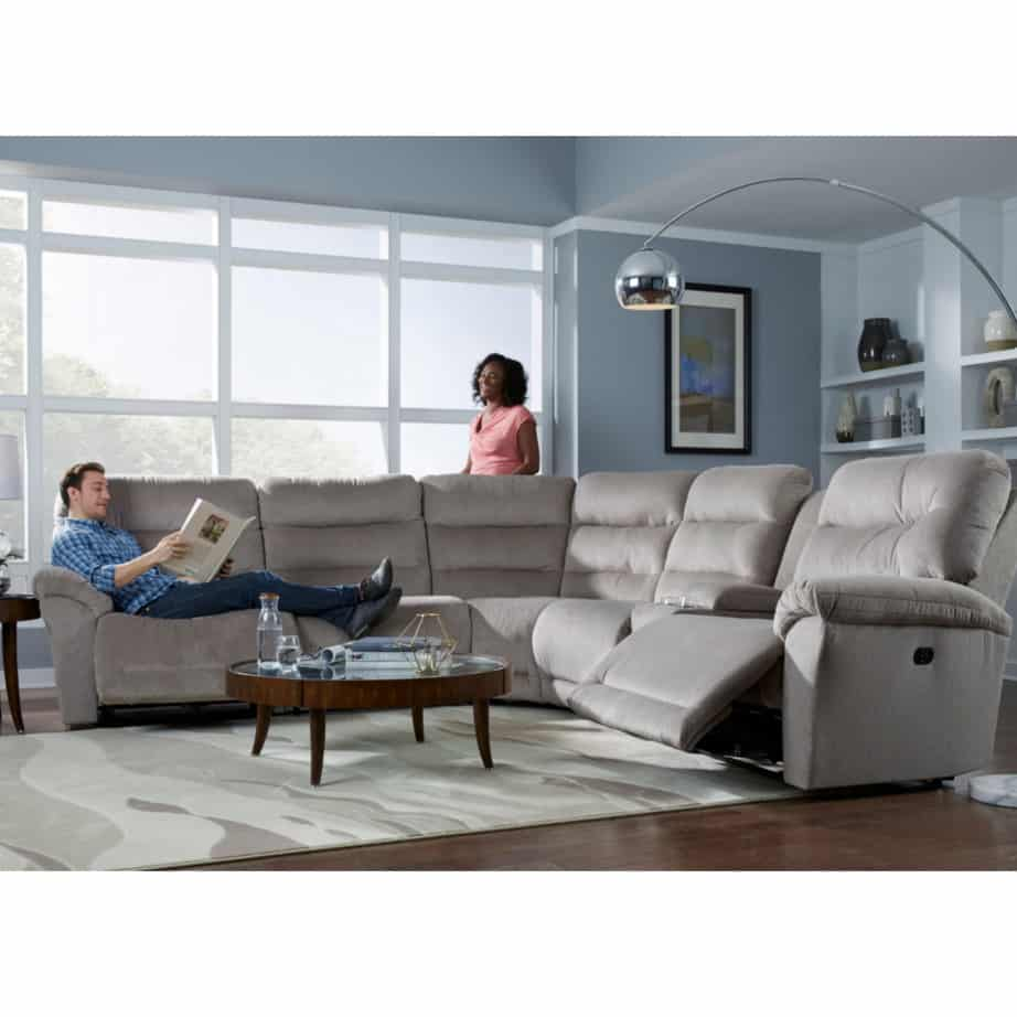 power recliner, power recliner sofa, power recliner sectional, custom sofa, custom recliner, custom sectional, deep seat sofa, best home furnishings, modern, comfortable sofa, shelby power recliner sectional