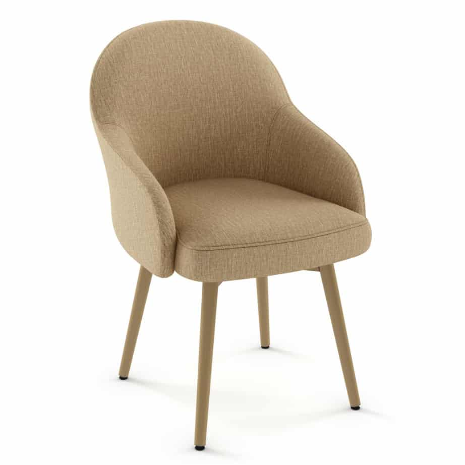 Dining Room, amisco, chair, weston Chair, contemporary, custom chair, customizable, fabric, made in canada, metal, rustic wood, seating, urban, custom made, modern,