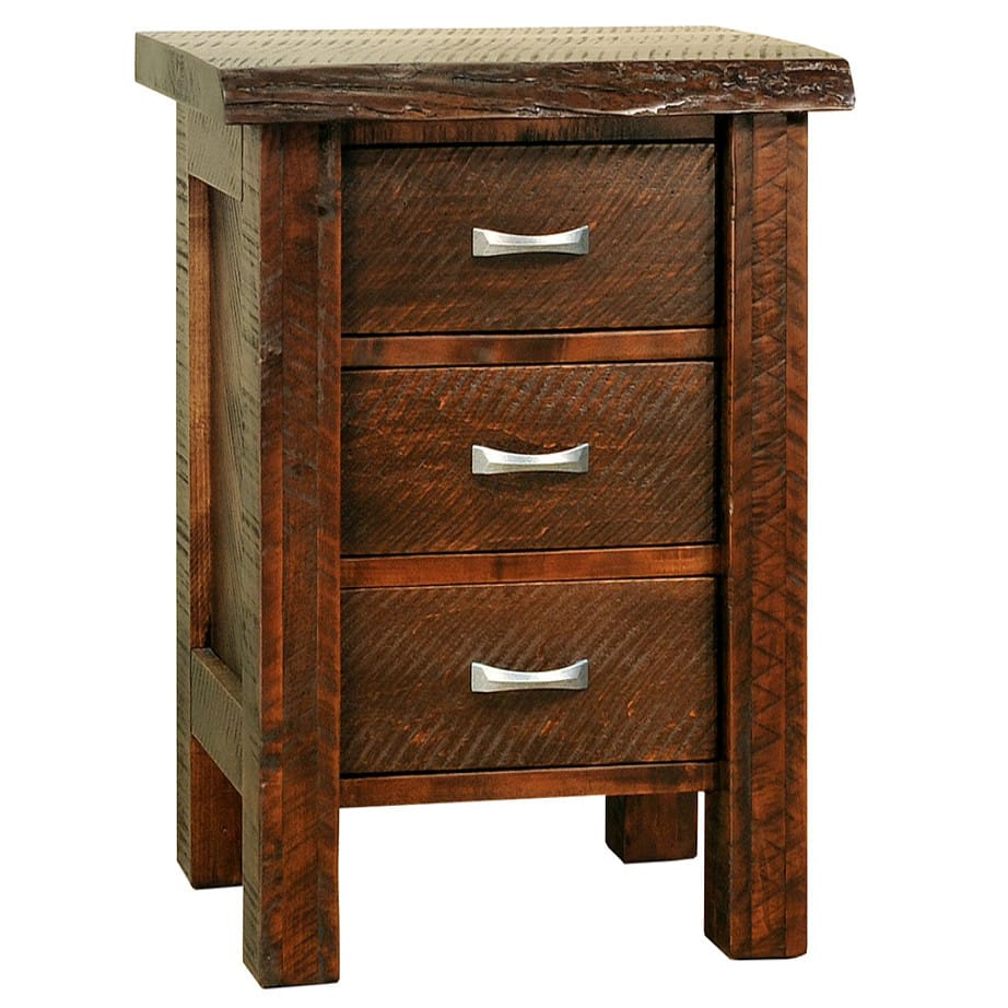 solid wood bedroom furniture, canadian made bedroom furniture, live edge bedroom furniture, rustic wood bedroom furniture, canadian made bedroom furniture, ruff sawn bedroom furniture, live edge night stand