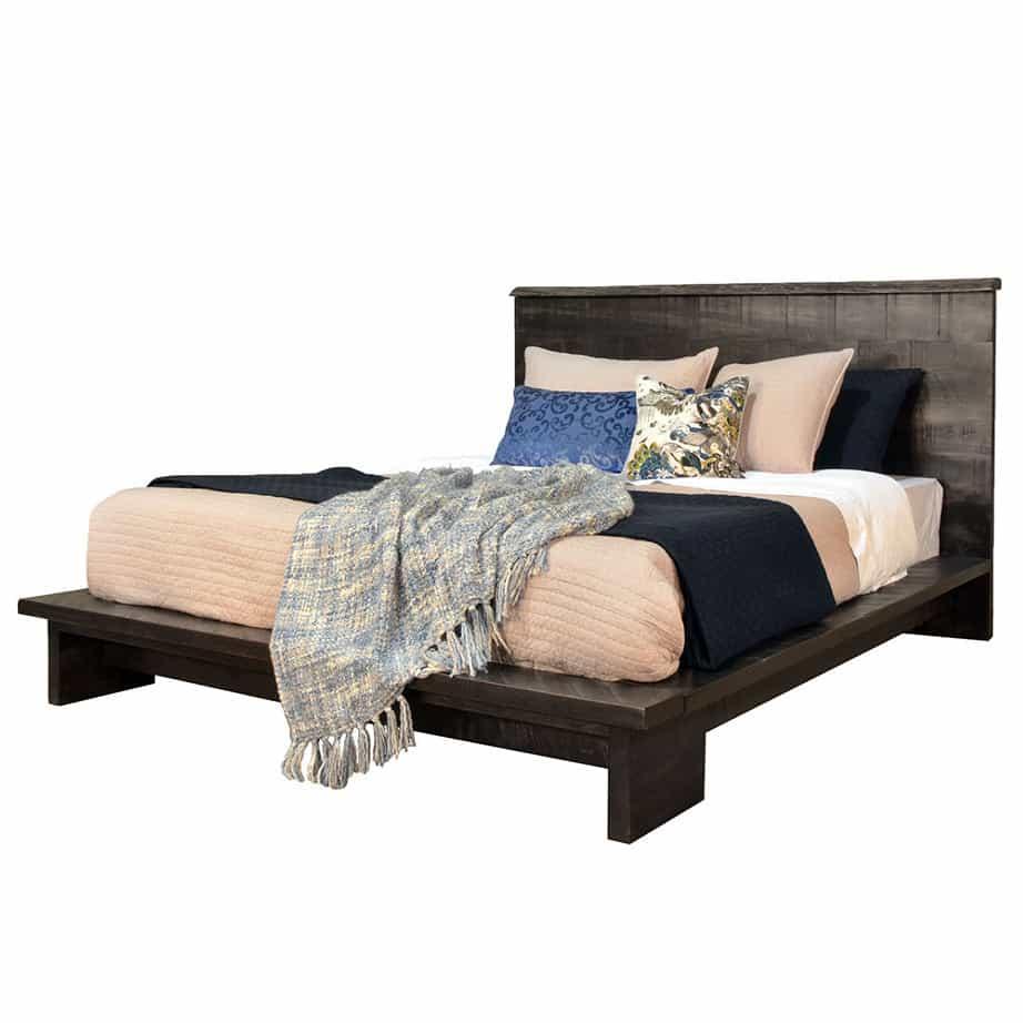 solid wood bedroom furniture, live edge bedroom furniture, custom bedroom furniture, modern bedroom furniture, rustic bedroom furniture, queen bed, king bed, platform bed, modelli bed