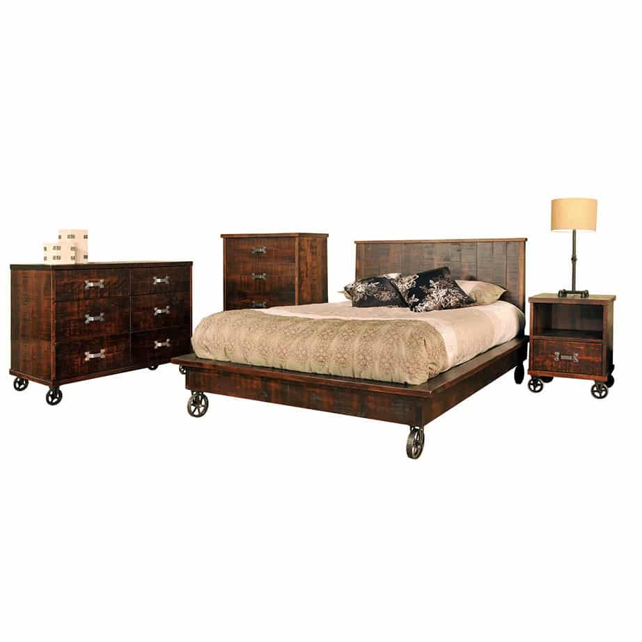 solid wood bedroom furniture, canadian made bedroom furniture, live edge bedroom furniture, rustic wood bedroom furniture, canadian made bedroom furniture, ruff sawn bedroom furniture, industrial bedroom furniture, steam punk bedroom