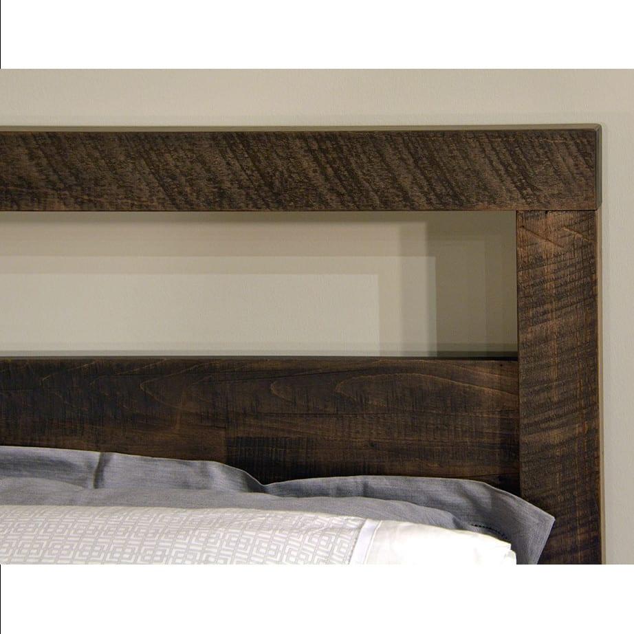 solid wood bedroom furniture, ruff sawn bedroom furniture, rustic wood bedroom furniture, modern bedroom furniture, canadian made bedroom furniture, custom built bedroom furniture, tempus bed
